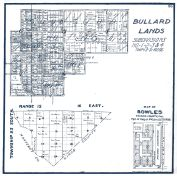 Sheet 013 - Township 23 S., Ranges 15 and 16 E., Bullard Lands, Bowles, Fresno County 1923